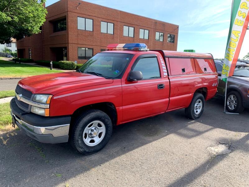 2003 Chevrolet Silverado 1500 Regular Cab Long Bed 4WD