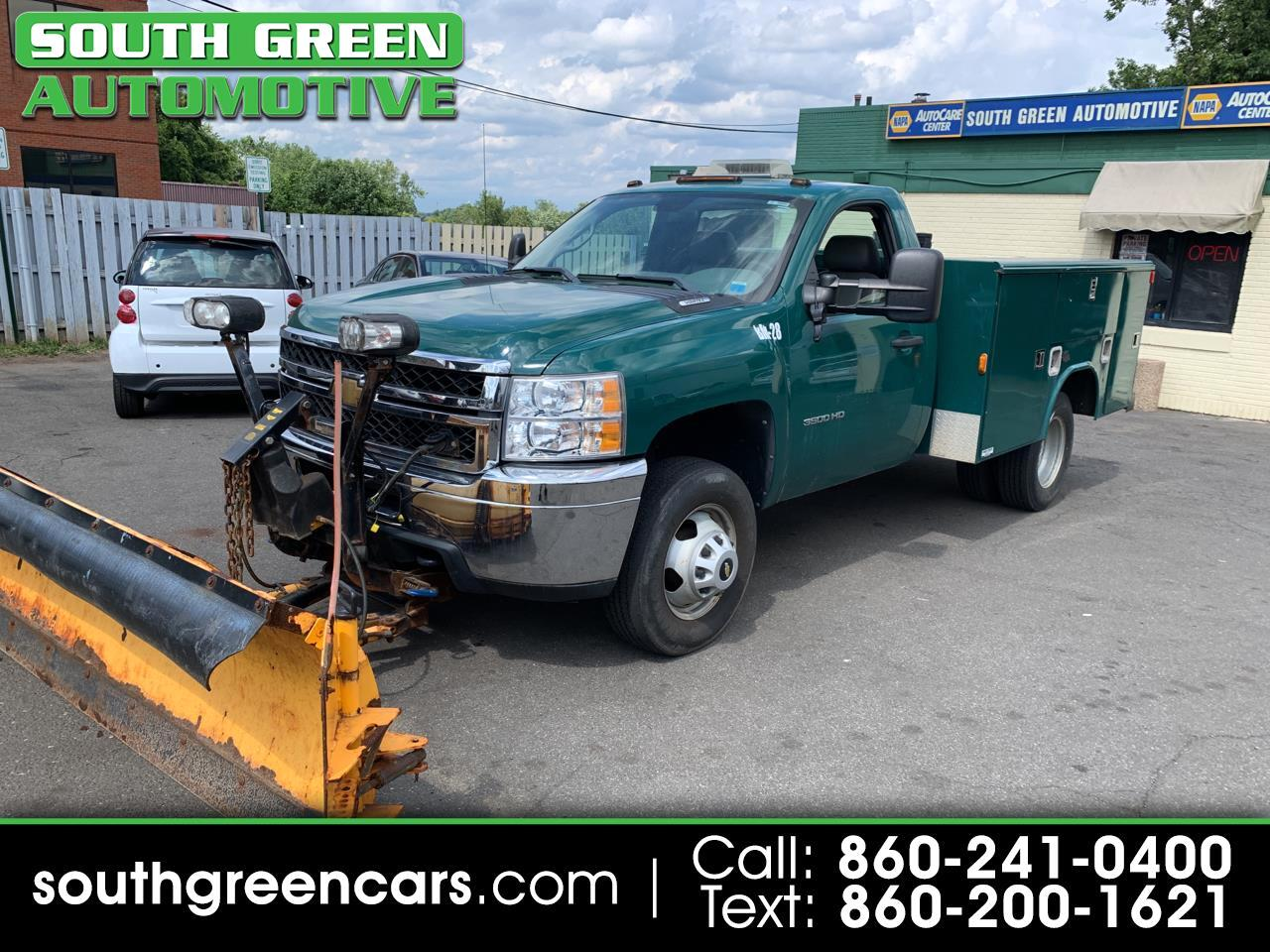 Chevrolet Silverado 3500HD Work Truck Long Box 4WD 2011
