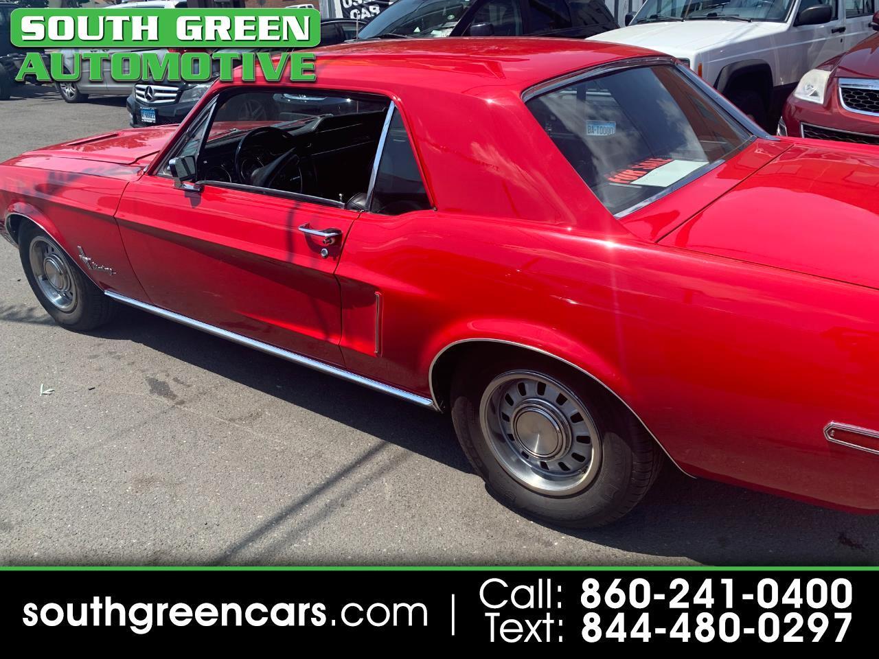 Ford Mustang 2-Door Hatchback 1968