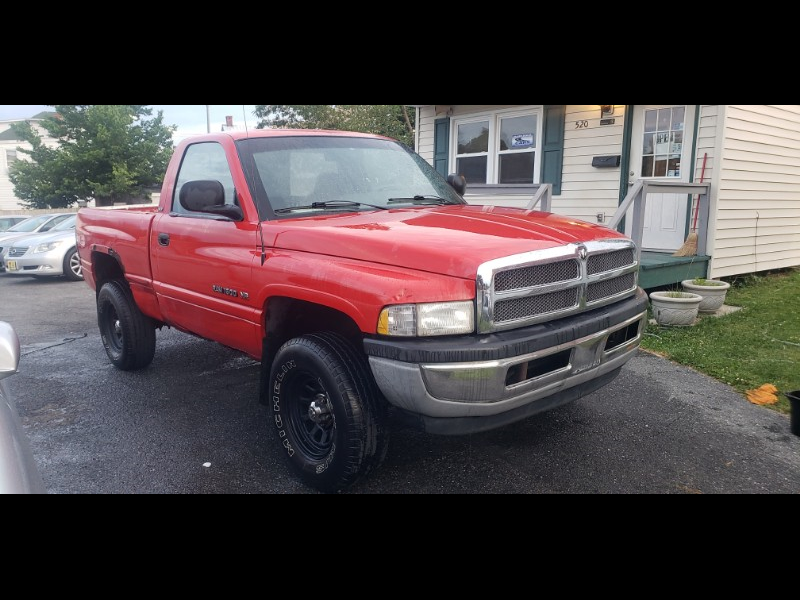 1996 Dodge Ram 1500 Reg. Cab 6.5-ft. Bed 4WD