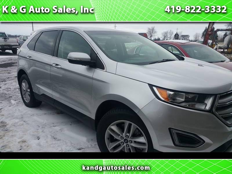2018 Ford Edge SEL AWD 4dr Crossover