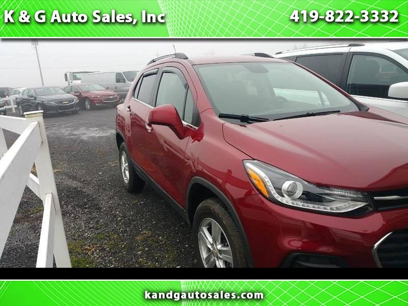 2018 Chevrolet Trax LT AWD 4dr Crossover