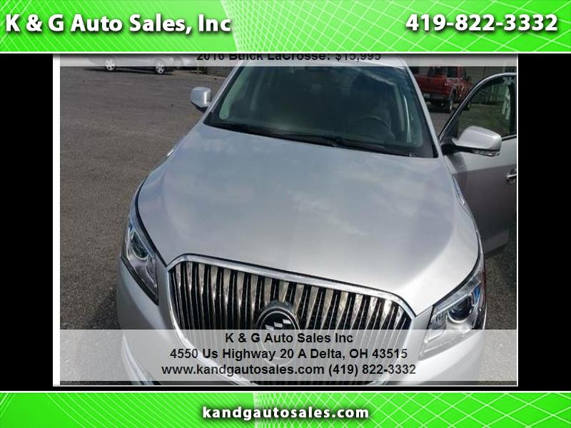 Buick LaCrosse Premium Package 2, w/Leather 2016