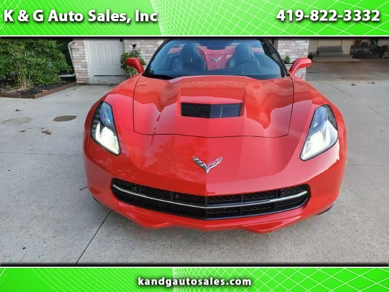 Chevrolet Corvette 3LT Convertible 2017