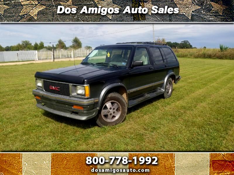 1993 GMC Jimmy SLE 4-Door 4WD