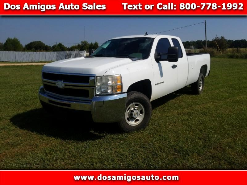 2009 Chevrolet Silverado 2500HD Work Truck Ext. Cab Long Box 2WD