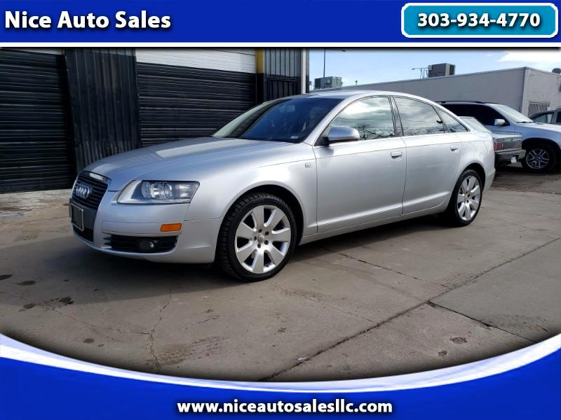 Audi A6 3.2 with Tiptronic 2007