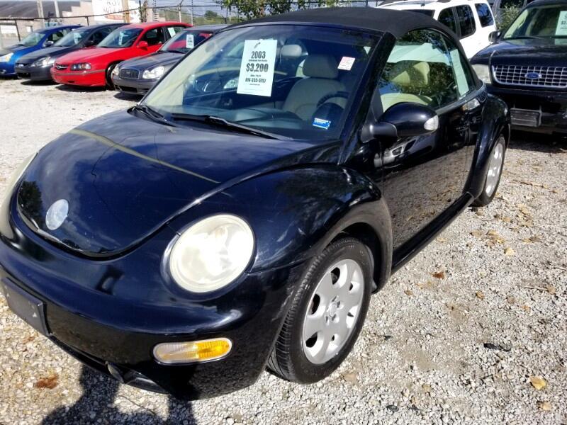 Volkswagen New Beetle GLS 2.0L Convertible 2003