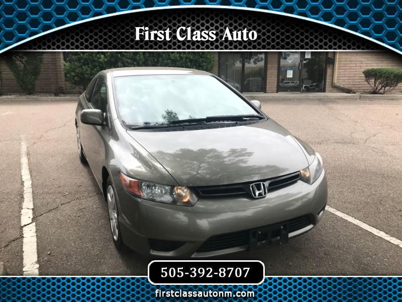 Honda Civic LX Coupe AT 2007