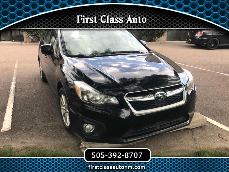 Subaru Impreza Premium 4-Door 2012