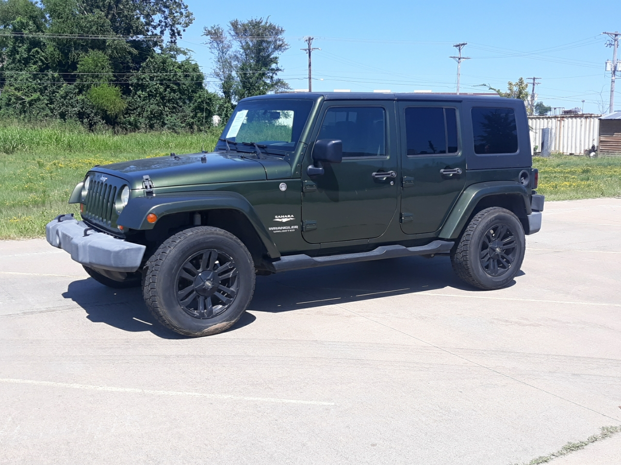 North Broadway Auto Sales >> Used 2007 Jeep Wrangler Unlimited Sahara 4wd For Sale In