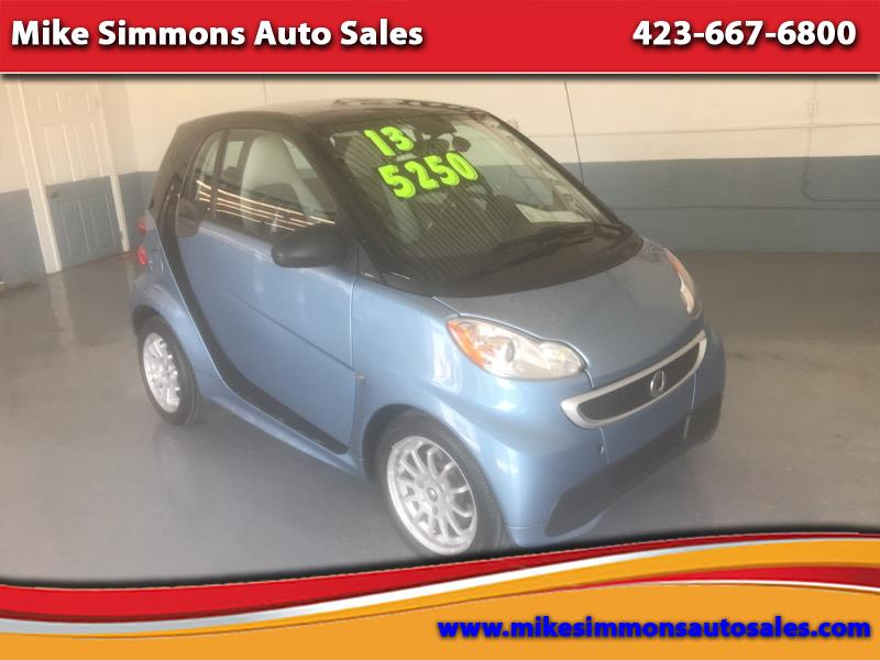 smart Fortwo 2dr Cpe Brabus 2013
