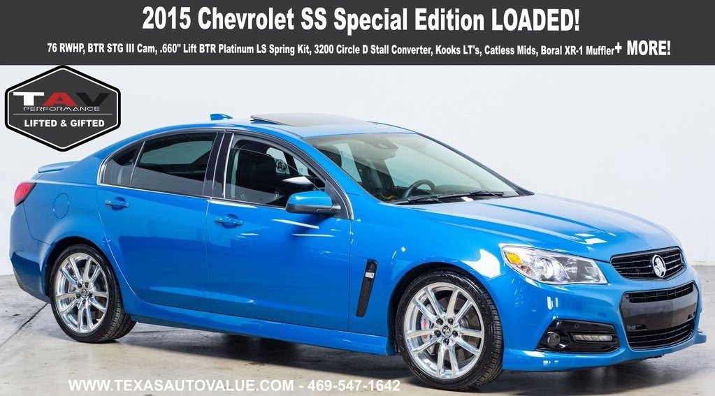 2015 Chevrolet SS Special Edition