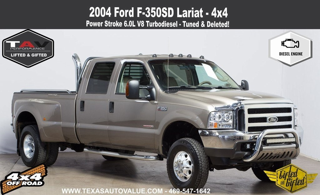 2004 Ford F-350 SD Lariat