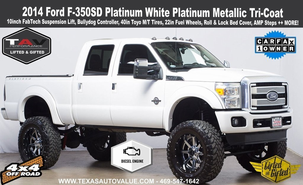 2014 Ford F-350 SD Platinum