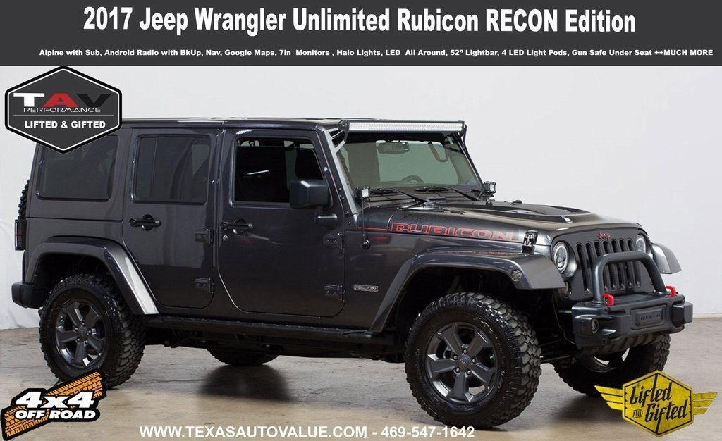 2017 Jeep Wrangler Unlimited Rubicon