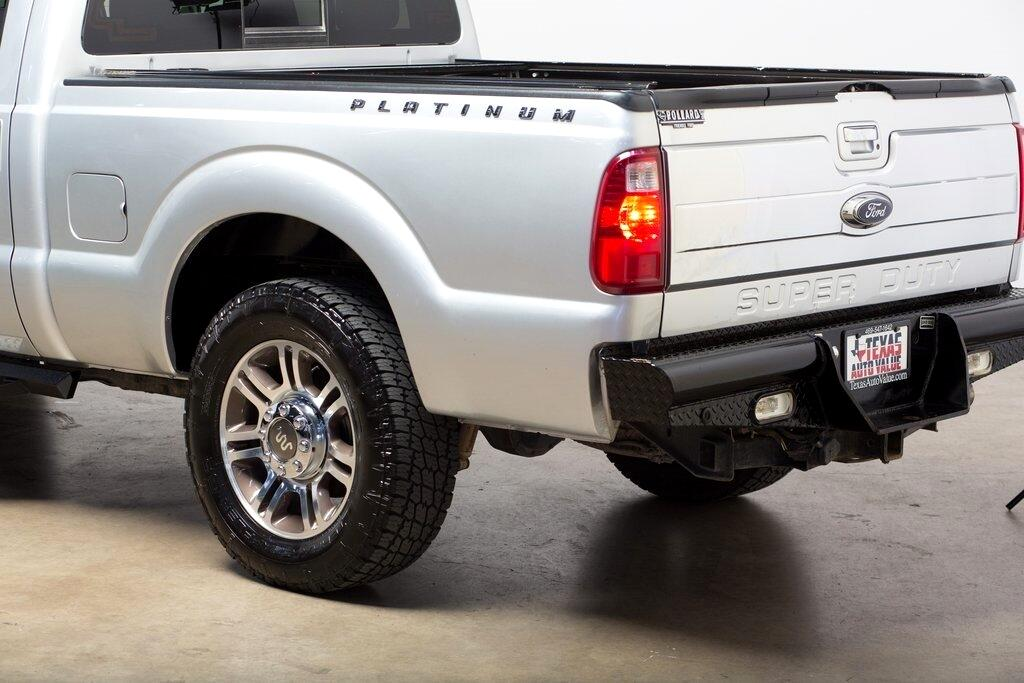 2013 Ford F-250 SD Platinum