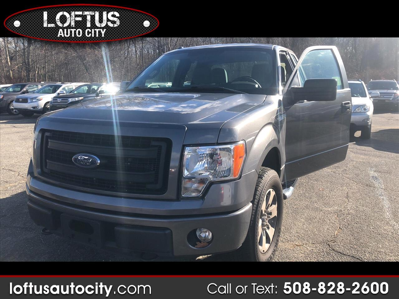 2013 Ford F150 XL SuperCab 8-ft. Bed 4WD