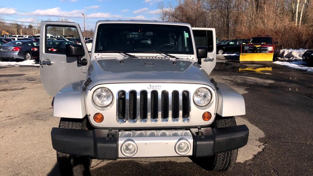 Jeep Wrangler Unlimited Unlimited Sahara 4WD 2008
