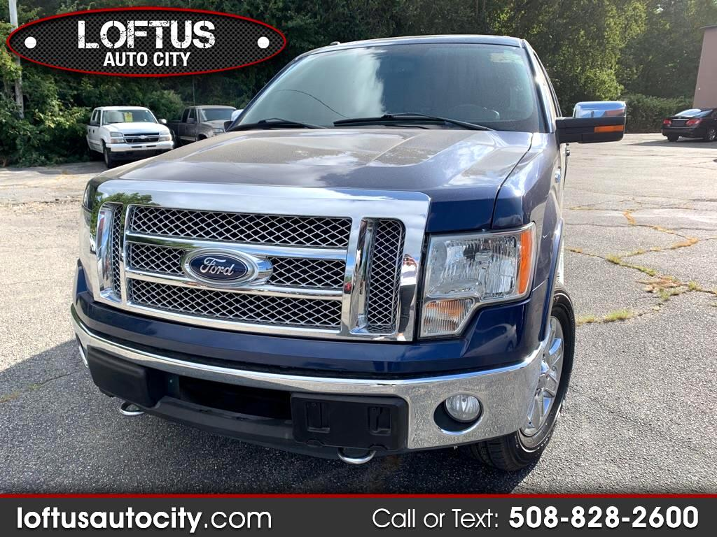 2011 Ford F150 Lariat SuperCrew 6.5-ft. Bed 4WD