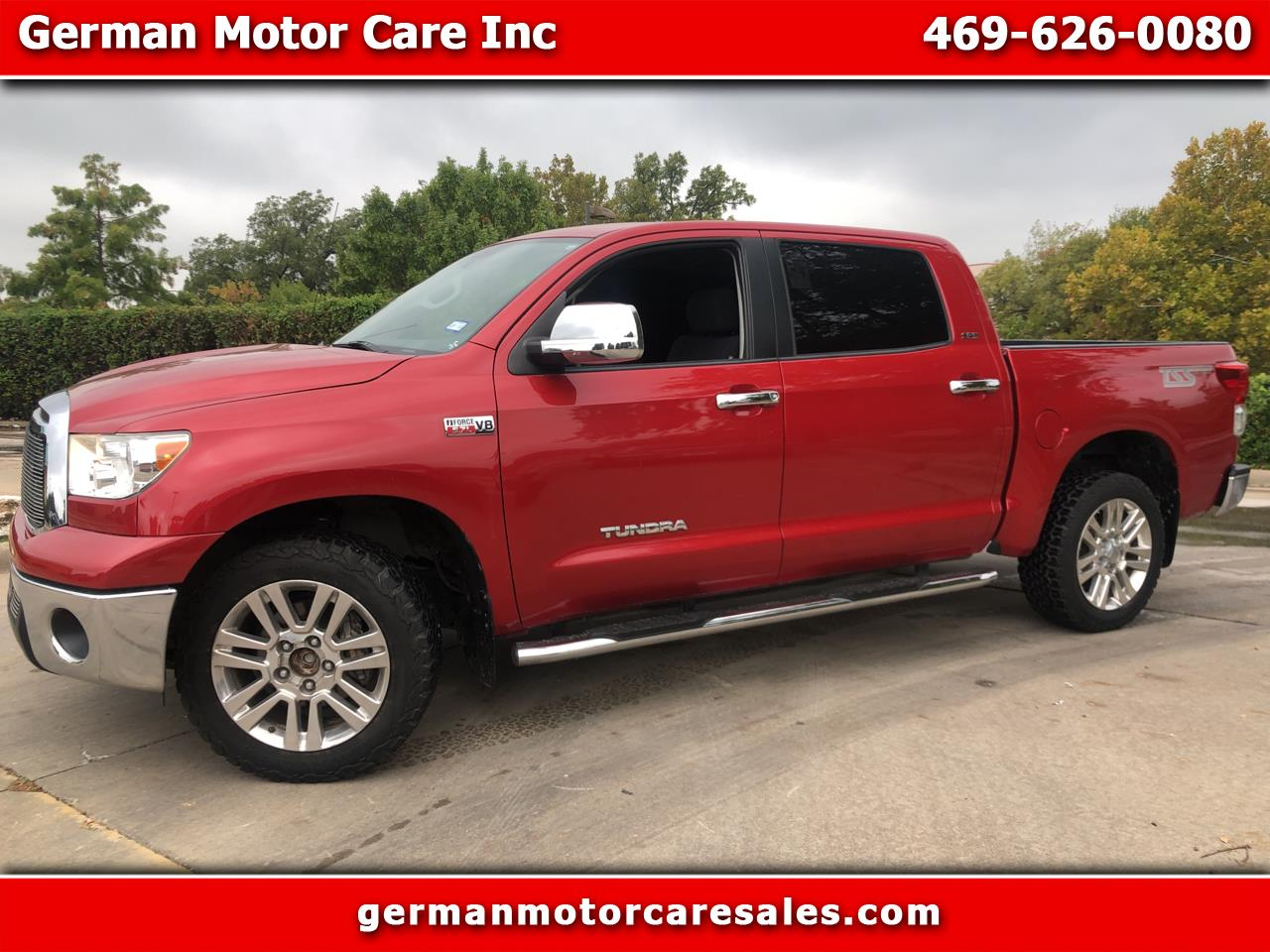 Toyota Tundra 2WD Truck CrewMax 5.7L V8 6-Spd AT (Natl) 2013