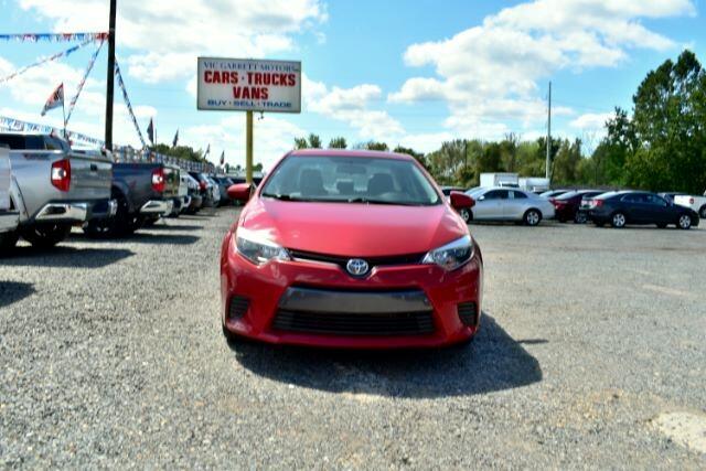 Toyota Corolla 4dr Sdn CVT LE (Natl) 2016