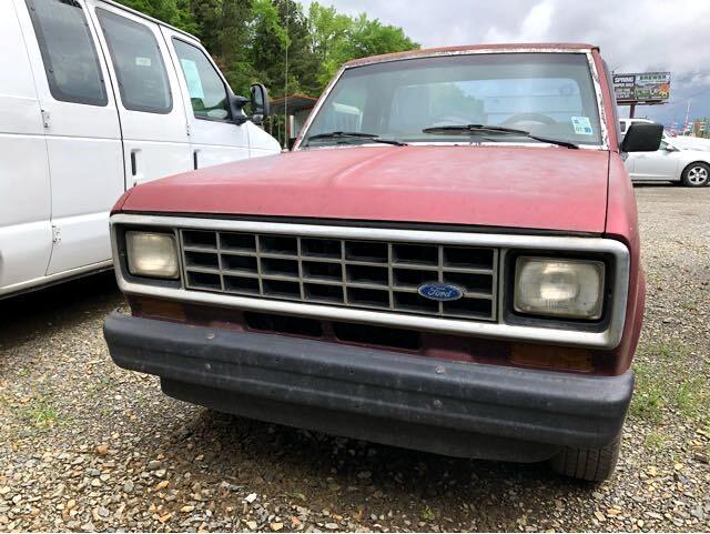 """Ford Ranger Pickup Styleside S 108"""" WB 1986"""