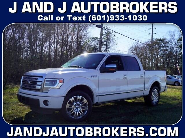 "Ford F-150 2WD SuperCrew 145"" Platinum 2013"