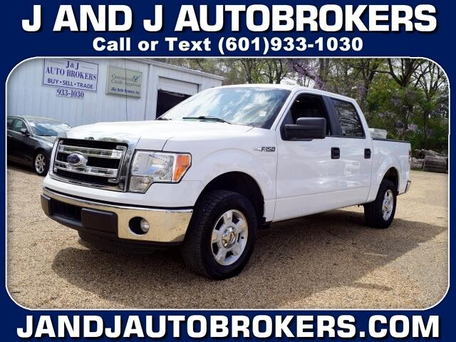 "Ford F-150 2WD SuperCrew 145"" XL 2014"