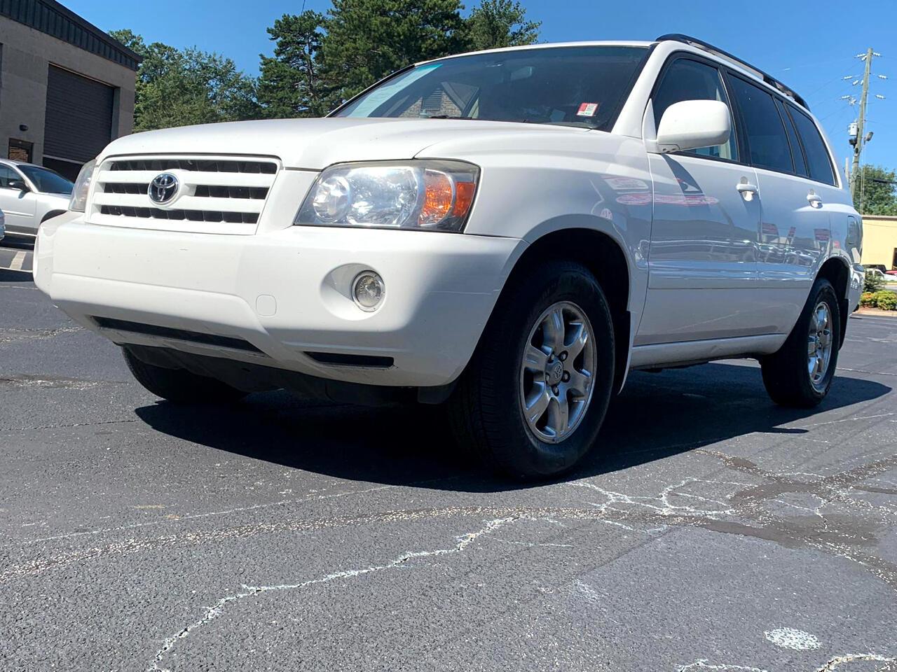 2004 Toyota Highlander V6 2WD