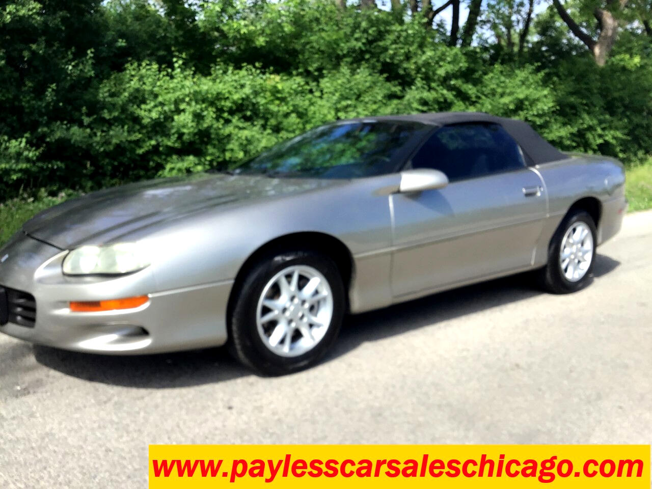 used 2001 chevrolet camaro 2dr convertible for sale in blue island il 60406 payless car sales blue island il 60406 payless car sales