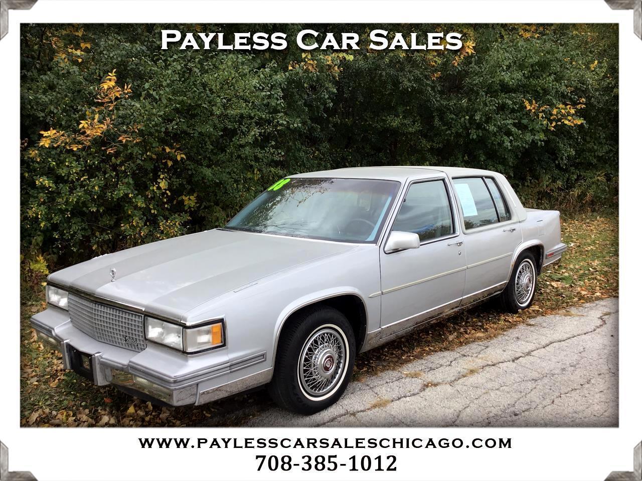 Cadillac Fleetwood d'Elegance 4dr Sedan 1988