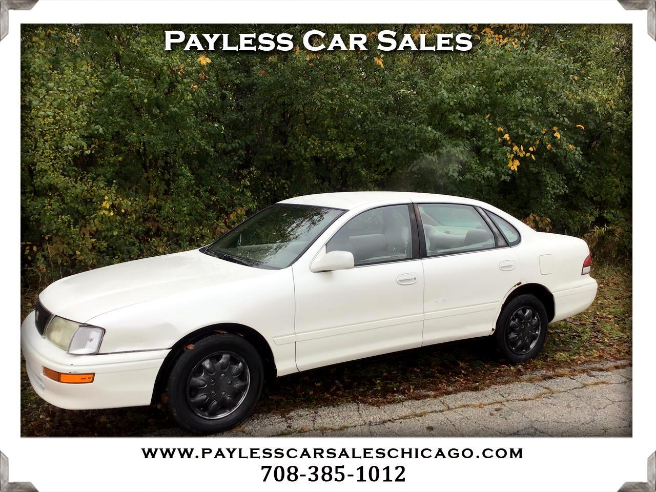 Toyota Avalon 4dr Sdn XLS w/Bucket Seats 1996