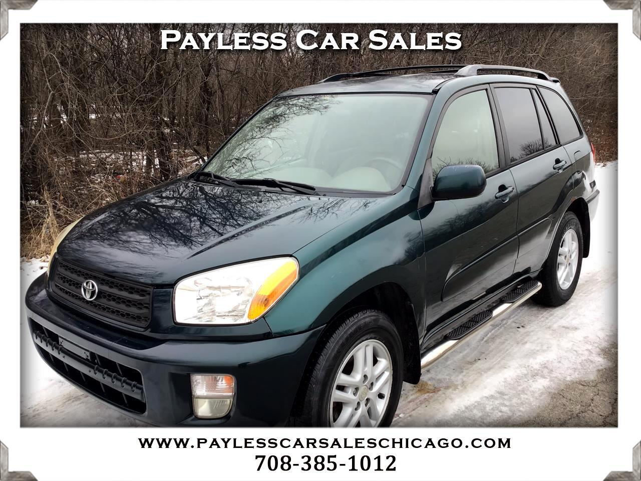 Toyota RAV4 4dr Manual (Natl) 2002