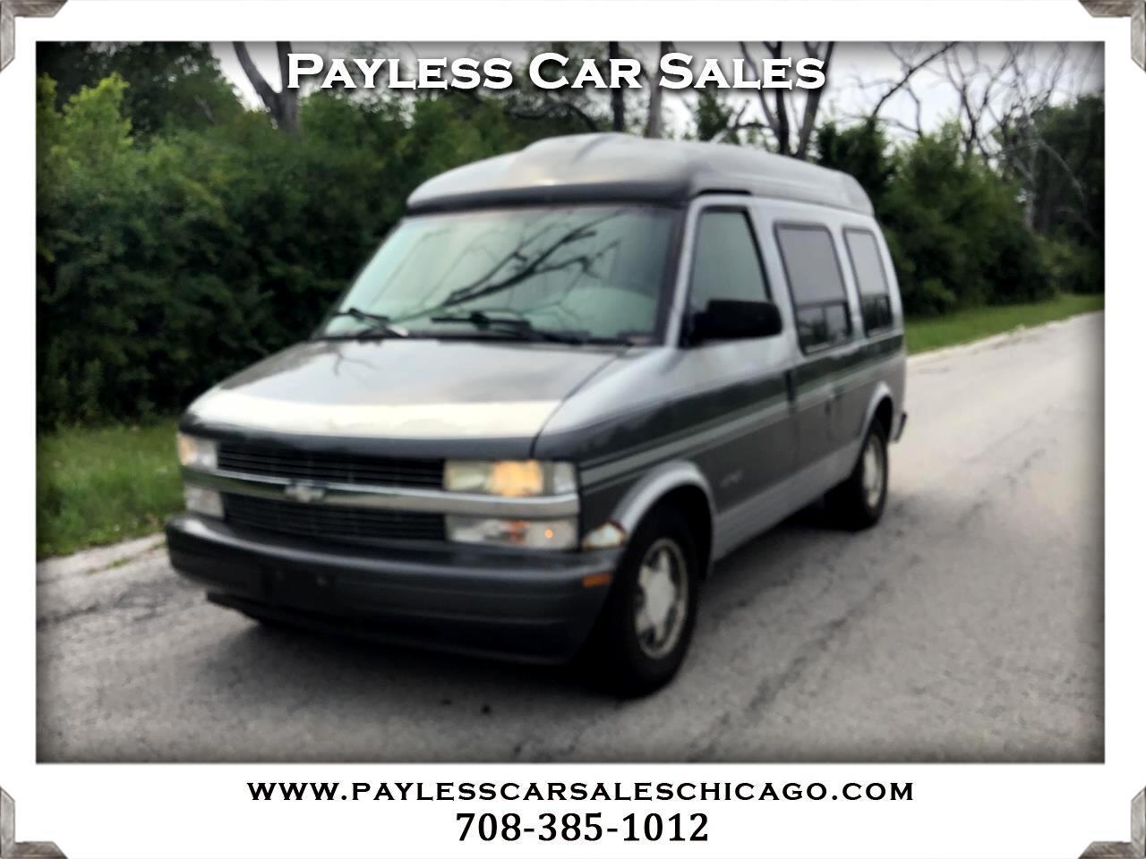 "Chevrolet Astro Cargo Van 111.2"" WB RWD w/YF7 2000"
