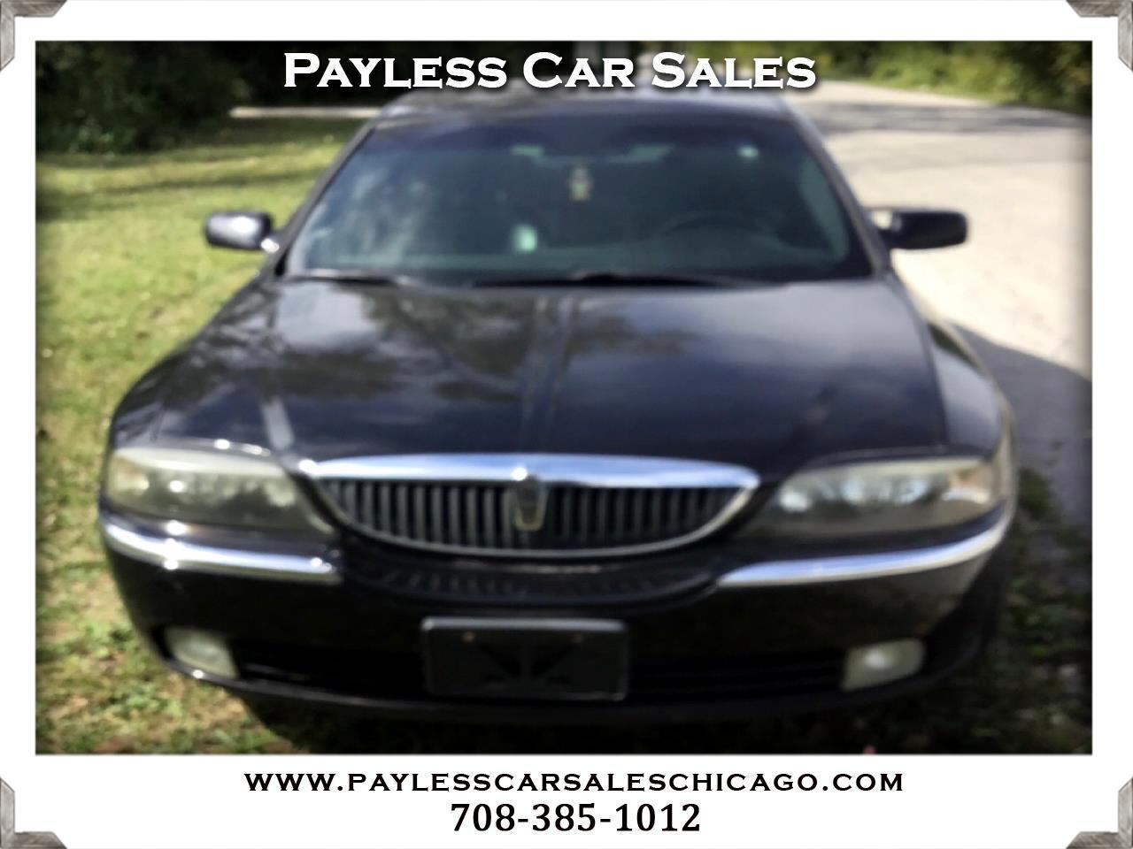 Lincoln LS 4dr Sdn V6 Auto w/Premium Pkg 2003