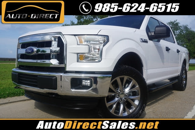 Ford F-150 XLT 4x4 SuperCrew 2015