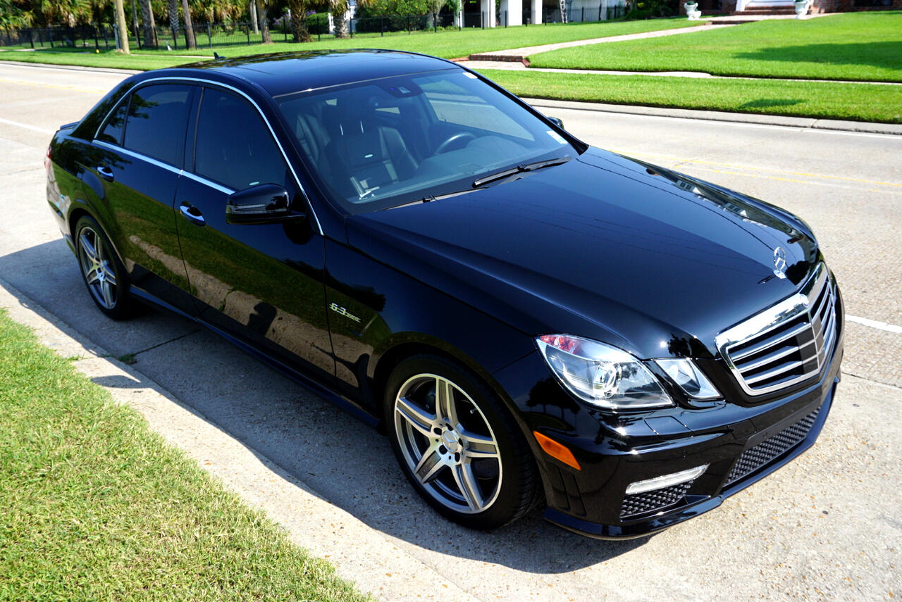 Mercedes-Benz E-Class E63 AMG Sedan 2010