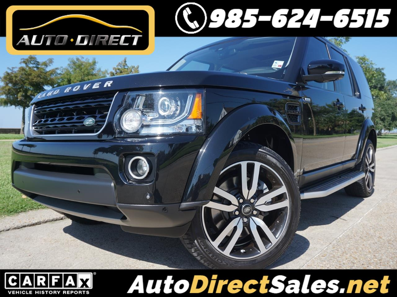 Land Rover LR4 4WD 4dr HSE LUX Landmark Edition 2016