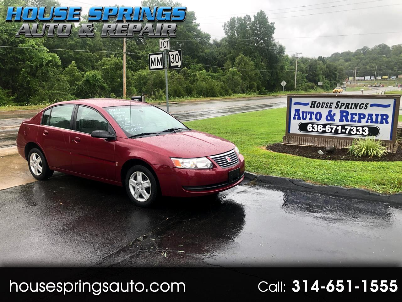 Saturn ION 2 Sedan Automatic 2007