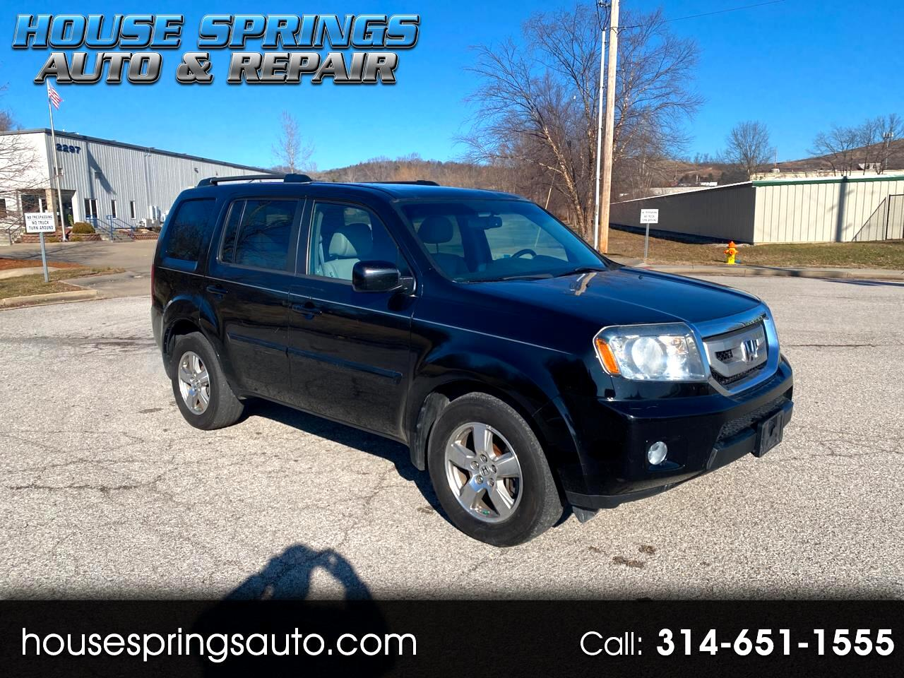 Honda Pilot EX-L 4WD 5-Spd AT with Navigation 2011