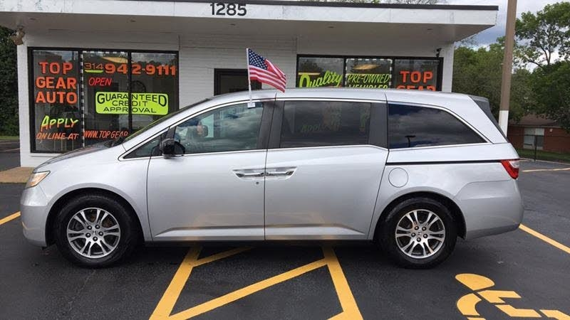2011 Honda Odyssey EX-L MOONROOF LEATHER CAPT CHAIRS 3RD ROW LOADED!!