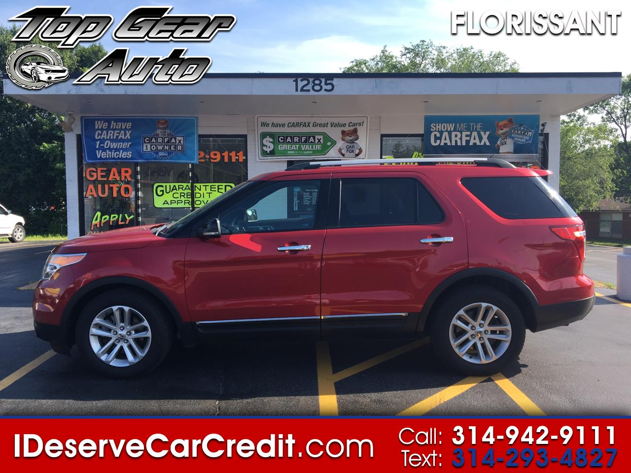 2011 Ford Explorer XLT 4WD PAN ROOF LEATHER 3RD ROW B/U CAM FORD SYNC