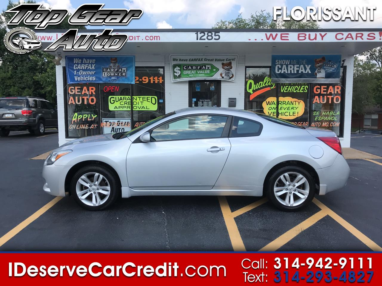 2013 Nissan Altima 2dr Cpe I4 2.5 S