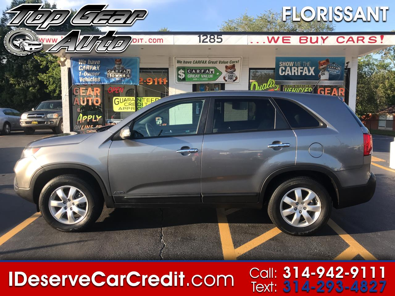 2011 Kia Sorento AWD ALLOYS SUPER CLEAN! GREAT VALUE!