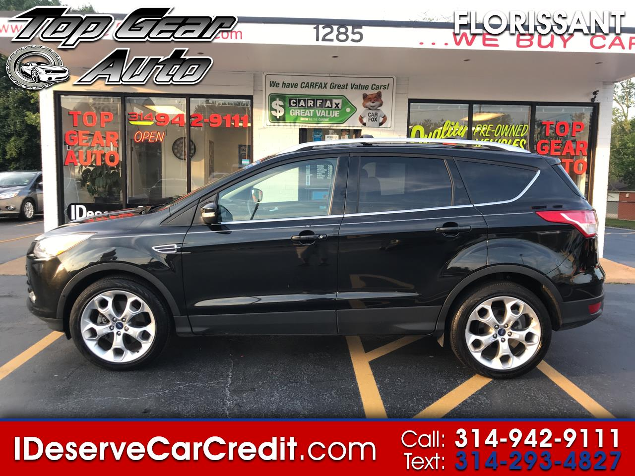 2014 Ford Escape TITANIUM 4WD 2.0L ECOBOOST! NAVIGATION LEATHER PRE