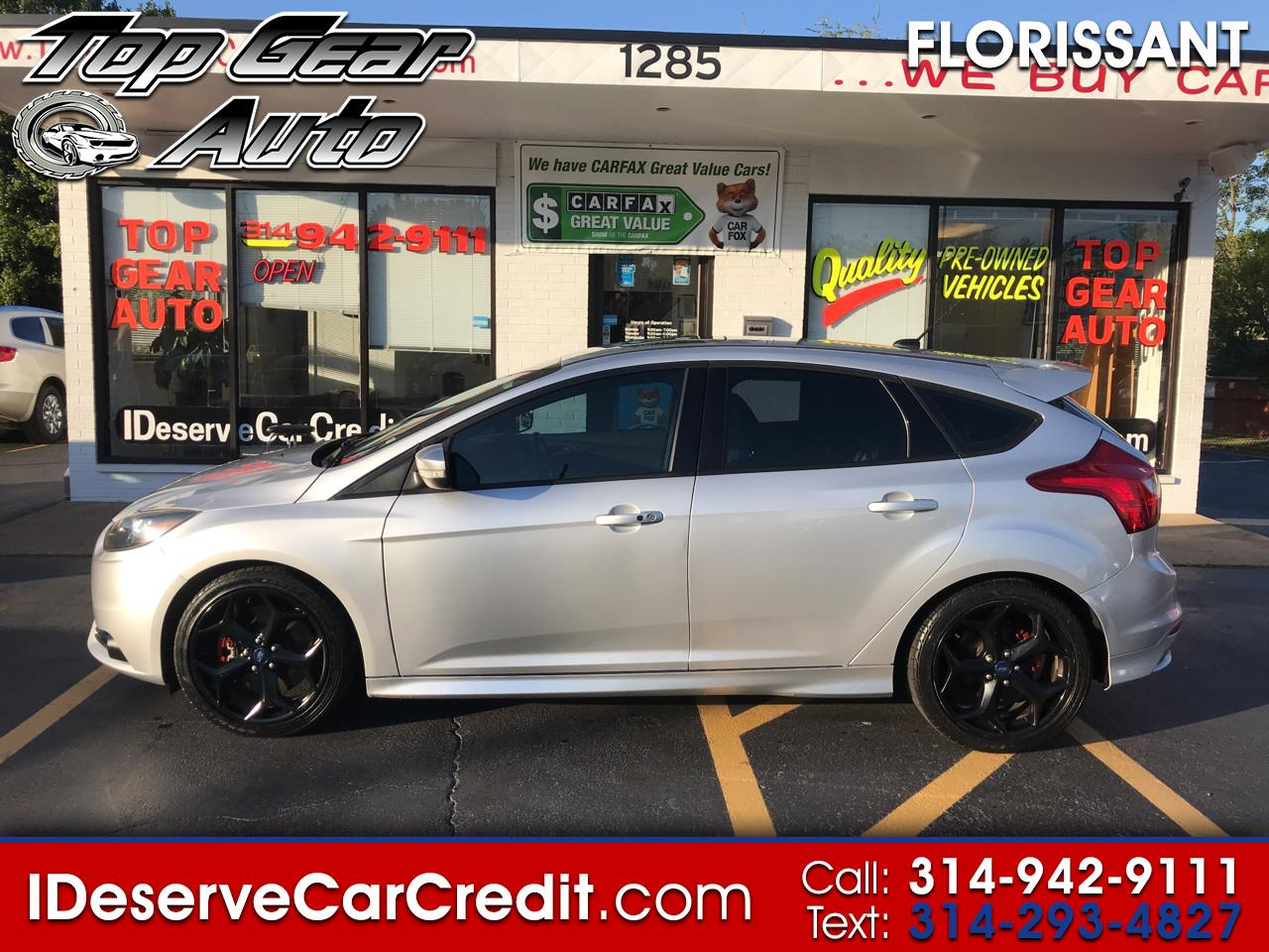 2014 Ford Focus ST ECOBOOST TURBO 6PD MANUAL 54K MILES ALLOYS MUST