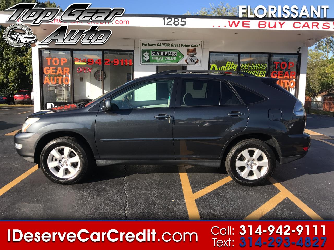 2007 Lexus RX 350 AWD MOONROOF LEATHER ALLOYS SUPER CLEAN A TRUE MUS