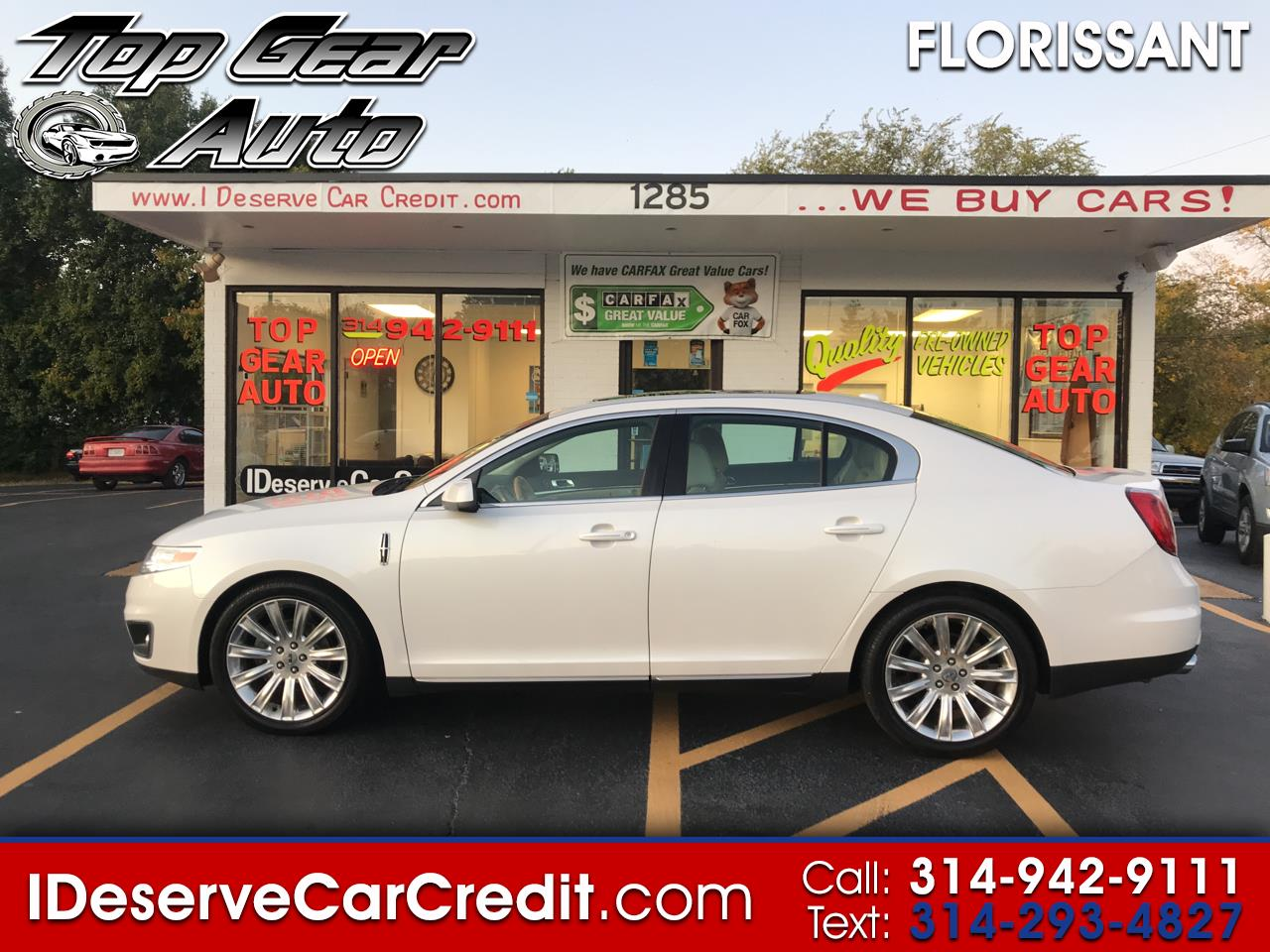 """2010 Lincoln MKS MK-S AWD 65K MILES! PANORAMIC ROOF NAV LEATHER 20"""""""