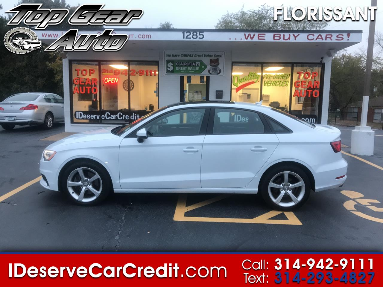 2015 Audi A3/S3 A3 AWD LEATHER NAVIGATION MOONROOF LOADED! SPORTY!